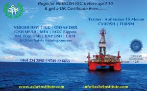 Nebosh Special Offer Kerala